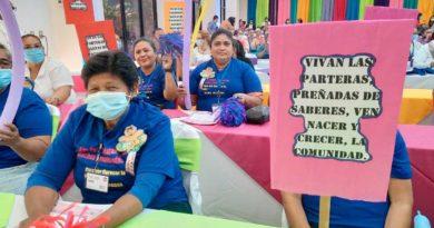 Parteras de Nicaragua participan en el IV Foro Nacional de Parteras de Nicaragua