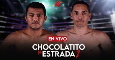 """Pelea En Vivo entre Román """"Chocolatito"""" Gonzaléz vs """"El Gallo"""" Estrada"""