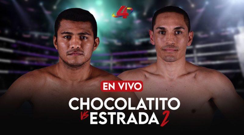 """Ver Envivo pelea entre Román """"Chocolatito"""" González vs """"El Gallo"""" Estrada 2021"""