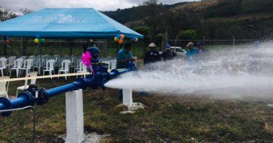 Nuevo pozo de agua potable en Jinotega