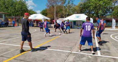 Privados de libertad participaron en una jornada deportiva en el Sistema Penitenciario de Tipitapa