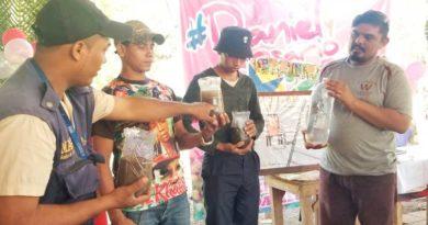 Productores de Jiquilillo fortalecen sus capacidades desde las Escuelas Técnicas de Campo