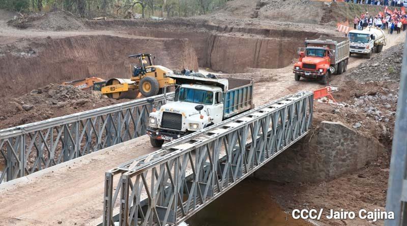 MTI da inicio con la labores para la construcción del nuevo puente Cuisalá en Chontales