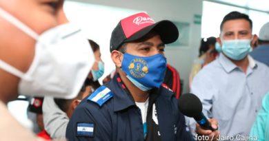 """Román """"Chocolatito"""" González llega a Nicaragua, este sábado 20 de marzo."""