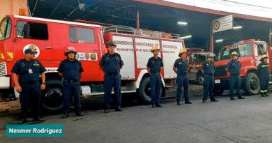 Nuevos medios de transporte y bomberos que atenderán la estación en San Rafael del Norte