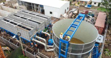 Planta de Tratamiento de Agua Potable, actualmente