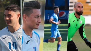 Jugadores de la Selección de Fútbol de Nicaragua que fueron convocado por Juan Vita al partido ante las Islas Turcas y Caicos.