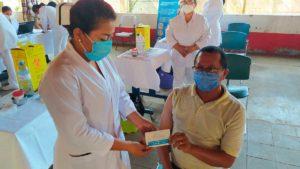 Vacunación voluntaria contra la Covid-19 a pacientes con cardiopatías, del Distrito 7 de Managua