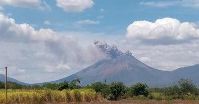 Informe del INETER sobre la actividad registrada en el volcán San Cristóbal