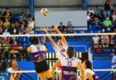 Jugadoras de Las Panteras de Managua durante su partido ante el Real Estelí en la semifinal de la Liga de Voleibol Femenino de Nicaragua.