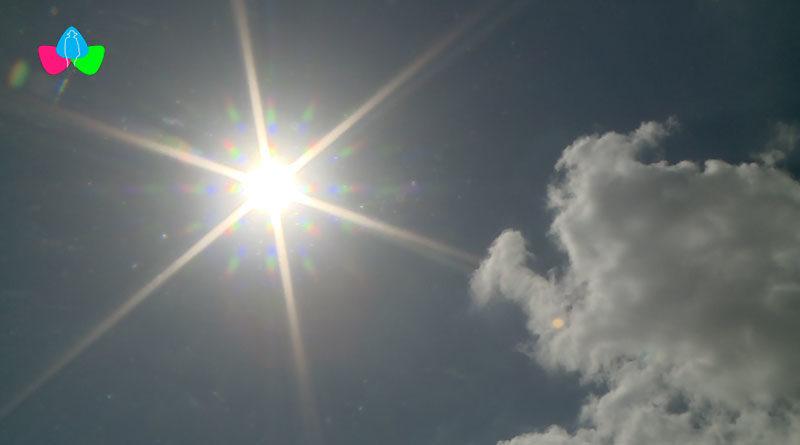 Cielo despejado de Managua, Nicaragua con un clima bastante caluroso.