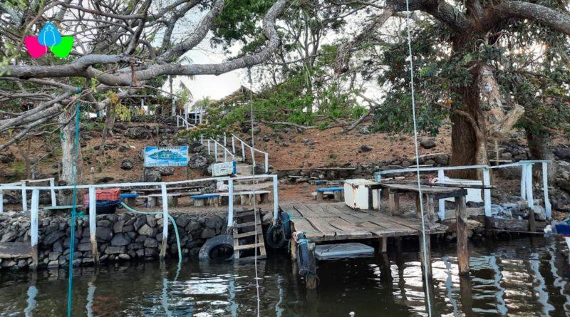 Bahía del Archipiélago El Nancital, ubicado en las refrescantes aguas del Lago Cocibolca, en el municipio de Acoyapa, Chontales.