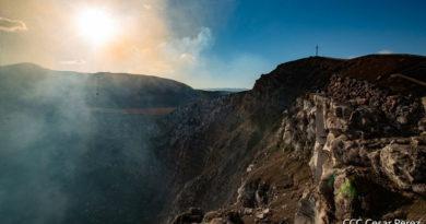 INETER reportó un incremento de la actividad sísmica alrededor del Volcán Masaya