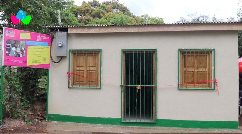 Centro de procesamiento de café, ubicada en la cooperativa de mujeres del barrio Miguel Alvarado de Siuna.