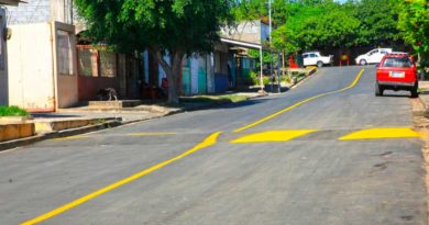 Una de las nuevas calles inauguradas por la Alcaldía de Managua en el barrio Sócrates Sandino