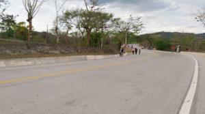 Vista de la carretera Muy Muy – Matiguás – Río Blanco inaugurada este jueves 08 de abril