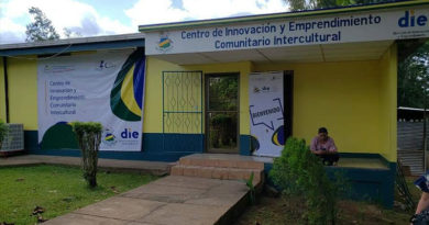 El Centro de Innovación Abierta y Laboratorio en la URACCAN- Nueva Guinea.