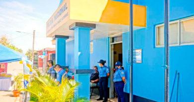 Edificio de la Comisaría de la Mujer y la Niñez en Dolores, Carazo, Nicaragua
