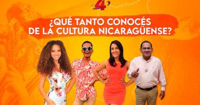 Juan Caldera, Alondra Leytón, La Juan Pablo y Suyén Cortez, responderán 17 datos curiosos que quizás no conocías sobre la cultura de Nicaragua 🇳🇮😂