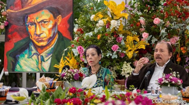 Presidente Comandante Daniel Ortega en el Foro de Reencuentro con la Madre Tierra