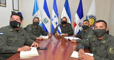 Efectivos militares del Ejército de Nicaragua durante una capacitación especializada de sus miembros