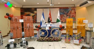 Equipos para salas de fisioterapia que serán entregados por el Ministerio de Salud de Nicaragua en varios municipios del país.