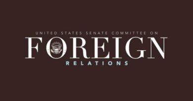 Imagen que muestra el logo del comité de Relaciones Exteriores del Senado de los Estados Unidos