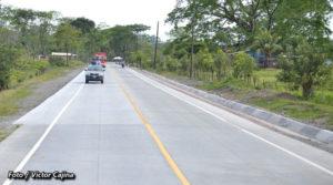 Nuevo acceso vial al casco urbano del municipio de Siuna, inaugurado este jueves por el MTI y Taiwán.
