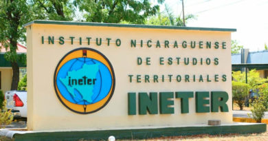 Entrada al INETER
