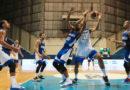 Juego entre la Selección de Baloncesto de Nicaragua y El Salvador en San Salvador, la noche de este domingo en uno de los partidos del Pre-Clasificatorio de la Copa del Mundo FIBA 2023.