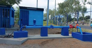 Fotografía de un pozo de agua potable