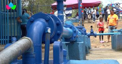 Nuevo pozo de agua potable del Muelle de los Bueyes