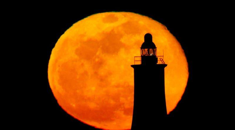 Imagen ilustrativa de la Superluna