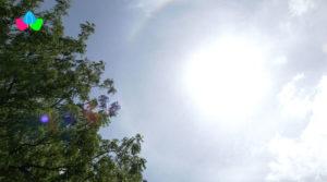 Cielo despejado y con fuerte radiación de calor, así serpa el clima de Nicaragua para este lunes.