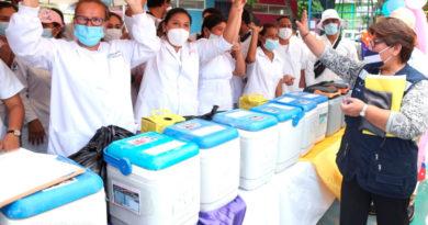 Personal de salud de Nicaragua listos para iniciar la Jornada Nacional de Vacunación
