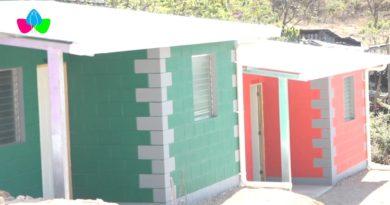 Viviendas dignas y seguras entregadas en el barrio Julio Velázquez por la Alcaldía de Somoto en el departamento de Madriz.
