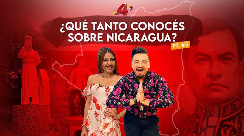 Serás capas de responder la Trivia sobre la cultura general de Nicaragua 🇳🇮