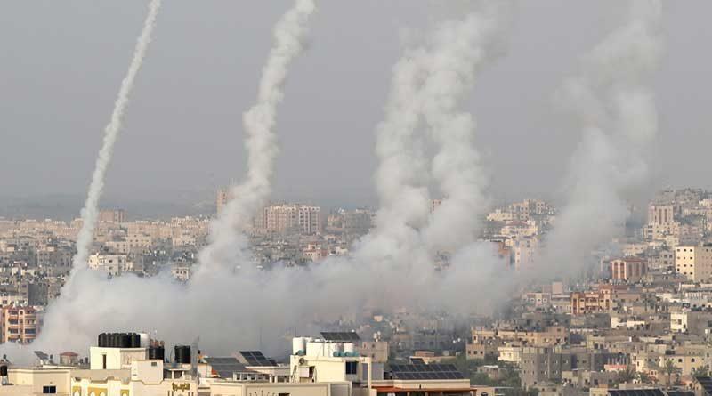Ataque con cohetes hacia Israel en medio de la tensión en Jerusalén