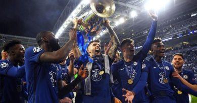 Chelsea celebrando su triunfo