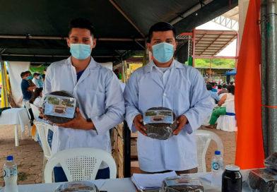 Participantes en la tercera edición del Certamen de Agroinnovación en Chontales