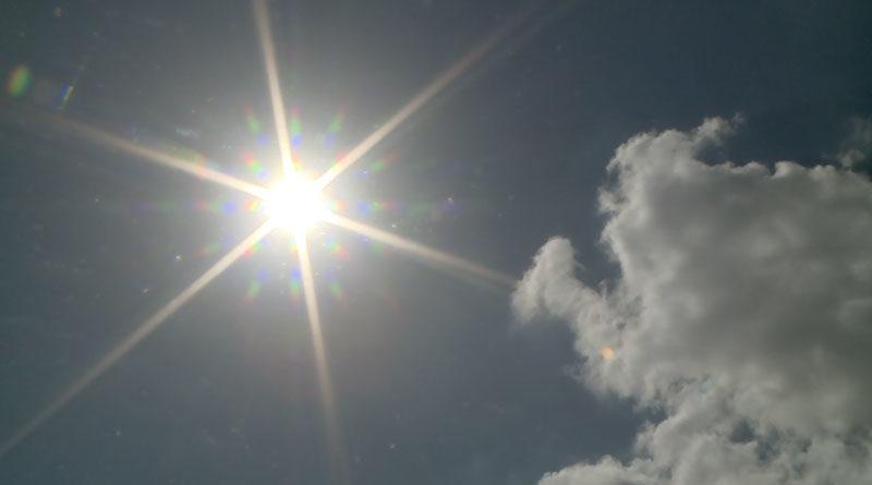 Clima de Nicaragua: Cielo este lunes en el que predominará el calor y probabilidad de lluvia por la tarde.