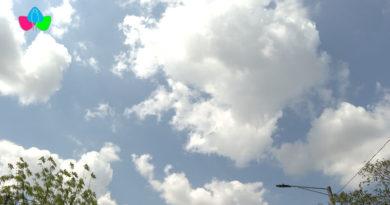 El cielo de Managua despejado de nubosidad como explicó el reporte del clima de INETER.