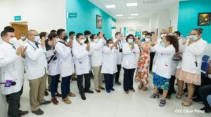 Médicos del Manolo Morales inauguraron la moderna sala de Consulta externa