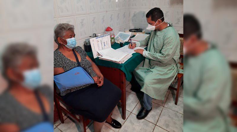 Paciente y doctor