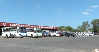 Instalaciones de la Cooperativa de Transporte Parrales Vallejos.