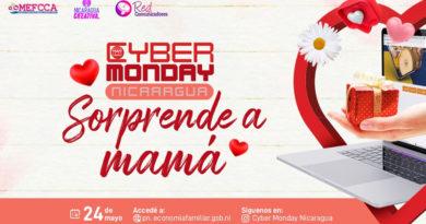 Invitación del MEFCCA al Cyber Monday dedicado a las madres nicaragüenses