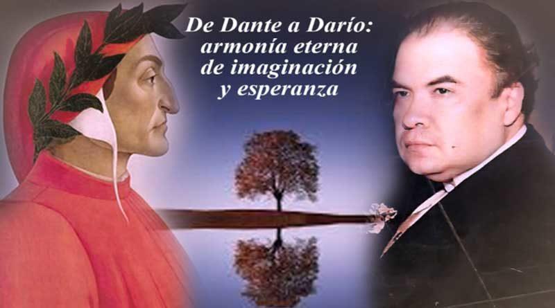 Imagen ilustrativa de Dante y Darío con un árbol de fondo que los separa