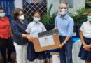 Embajador de Taiwán en Nicaragua junto a la ministra de Educación, realizan entrega de computadoras en Xiloá