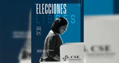 Portada del Dossier Nicaragua: Elecciones Libres 2021 en la que se muestra una joven ejerciendo su derecho al voto