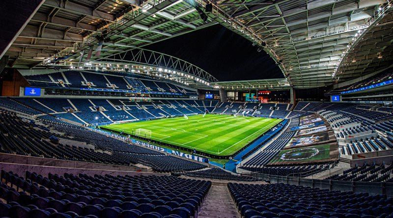 Estadio do Dragão de Portugal que será la nueva sede de la final de la UEFA Champions League, que se disputará entre el Manchester City y Chelsea.